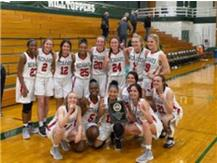 Grow the Game Tournament Champions January 4, 2020 at Glenbard West