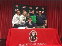 Pat Coogan signed letter of intent on National Signing Day 2020. Pat Coogan commits to University of Notre Dame.