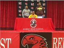 Jovan Marsh signed letter of intent on National Signing Day 2020. Jovan Marsh commits to University of Wyoming.