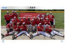 Varsity baseball clinches ESCC Championship May 22, 2021