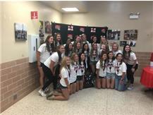 IHSA Class 4A Softball Champions enjoy a reception at Marist June 22, 2021
