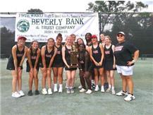 Beverly Hills Tennis Club Clay Court Tournament Champions Marist RedHawks August 21, 2021