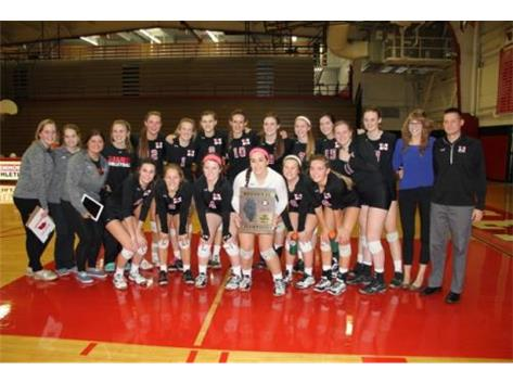 Girls Volleyball Regional Champions 2014