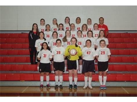 2015 Marist Redhawk Girls' JV Soccer Team