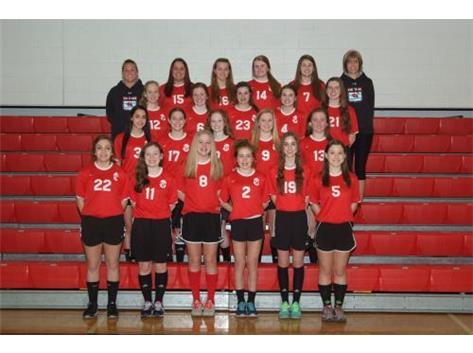2015 Marist Redhawk Girls' Freshman Soccer Team