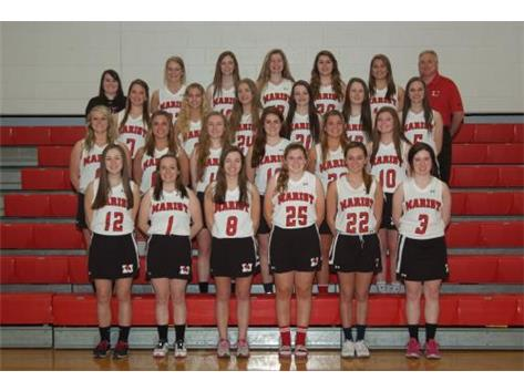 2015 Marist Redhawks Girls Varsity Lacrosse Team