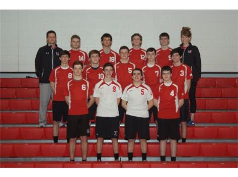 2015 Marist Redhawk Boys Varsity Volleyball Team