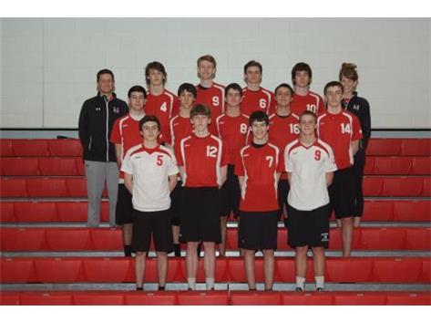 2015 Marist Redhawk Boys Sophomore Volleyball Team