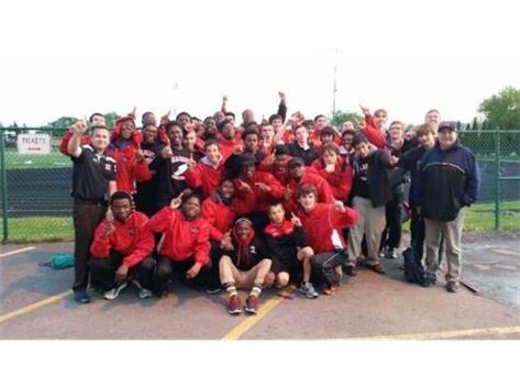 ESCC Boys Track Champions 2014