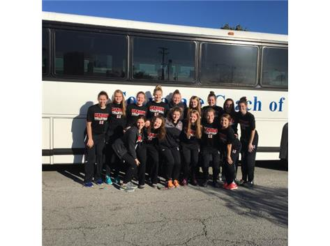 Volleyball hits the road to O'Fallon Classic