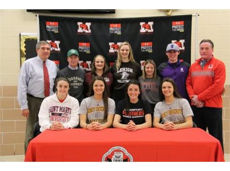 Marist athletes sign LOI on National Signing Day November 9, 2016