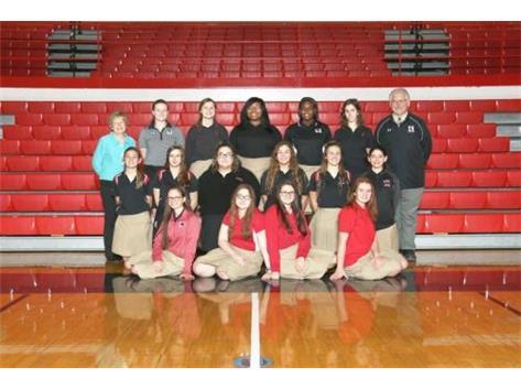 Girls Varsity Bowling Team 2016-2017