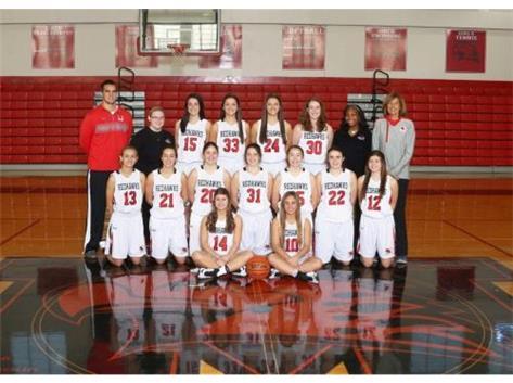 Girls Varsity Basketball Team 2016-2017