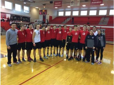 Marist Boys Volleyball RedHawk Invitational Champions March 25, 2017