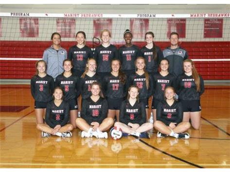 Marist Girls Varsity Volleyball Team 2017
