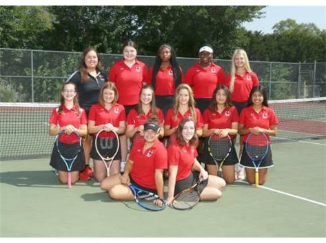 Marist Girls Tennis Team 2017