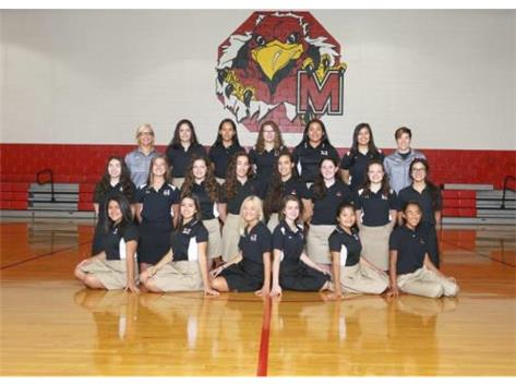 Marist Girls Swim Team 2017