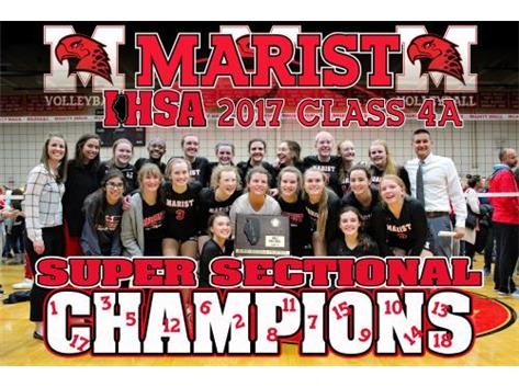 Marist Girls Volleyball Super Sectional Champs 2017