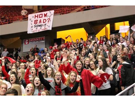 RedHawk Rowdies at state finals November 11, 2017