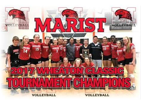 2017 Wheaton Classic Volleyball Tournament Champions