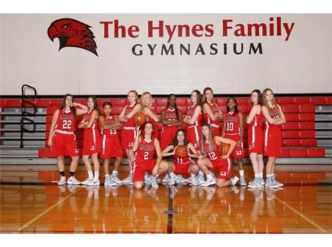 Girls varsity Basketball Team 2018-2019