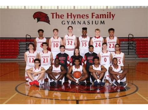 Boys Varsity Basketball Team 2018-2019