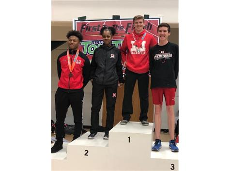 Illinois Top Times - Marist Medalists March 23, 2019