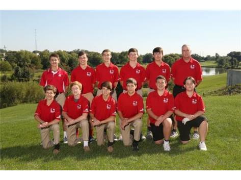 RedHawk Boys JV Golf Team  2019