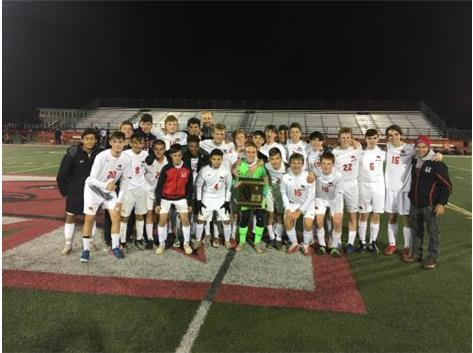 2019 IHSA Class 3A Regional Champion Marist RedHawks defeated Stagg 1-0 to claim the Regional Championship on October 25, 2019