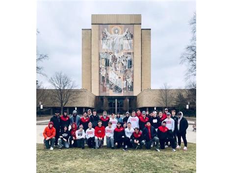 Annual Notre Dame trip 2019
