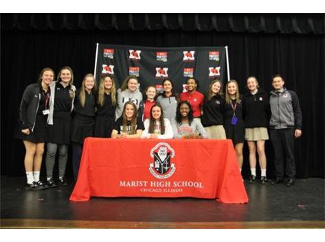 Girls Volleyball #Program joins NLI signees Mairead Boyle, Western Michigan; Maddie Arundel, Ferris State and Camryn Hannah, Clemson