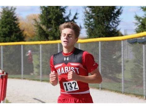 Sophomore Danny Olsen places 37th at 2020 Marist Regional