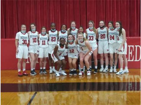 2021 Girls Varsity Basketball ESCC Tournament Champions