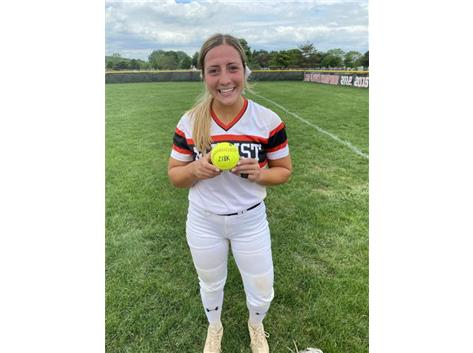 Abby Dunning sets Marist school record for career strikeouts with 218 on May 22, 2021