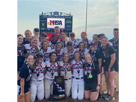 Softball IHSA 4A State Champions June 17, 2021