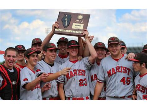 Marist Baseball- 2012 IHSA Sectional Champs