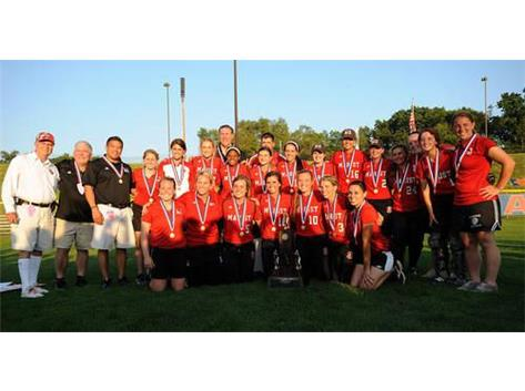 The 2012 Marist RedHawk State Championship Softball Team