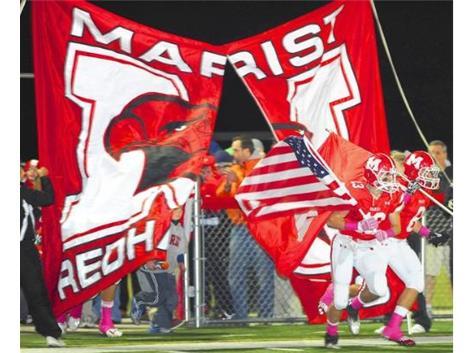Redhawks take the field