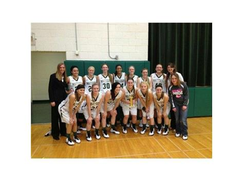 3RD PLACE-GIRLS HOLIDAY TOURNEY