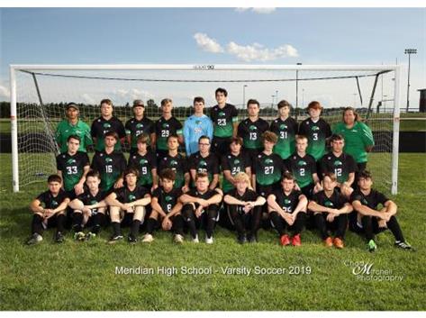 2019 Boys Soccer Varsity Team