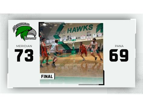 That was a hard fought victory. Way to go Hawks! #WeAreMeridian #GoHawks