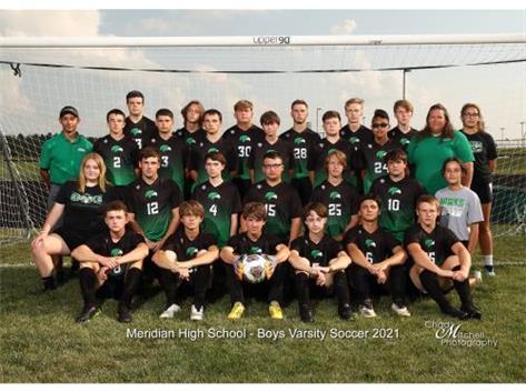 2021 Boys Soccer Varsity Team