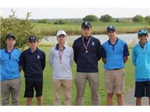 Boys Sophomore Golf-3rd Place ESCC Tournament