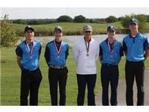 Boys Varsity Golf-3rd Place ESCC Tournament