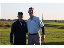 Boys Golf State Qualifiers - Jonathan Winters and Michael Rooney