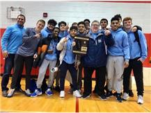 Wrestling wins first Regional Championship in school history.