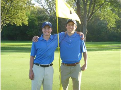Michael Cross and Jack Keivan Boys Golf State Qualifiers