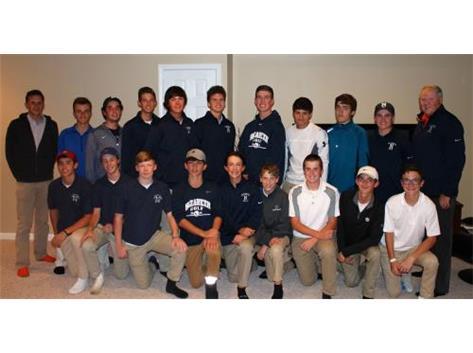 Varsity Boys Golf IHSA Sectional Qualifying Team