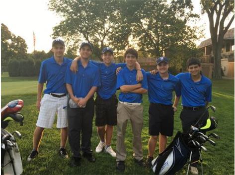 Boys Golf IHSA Sectional Qualifying Team