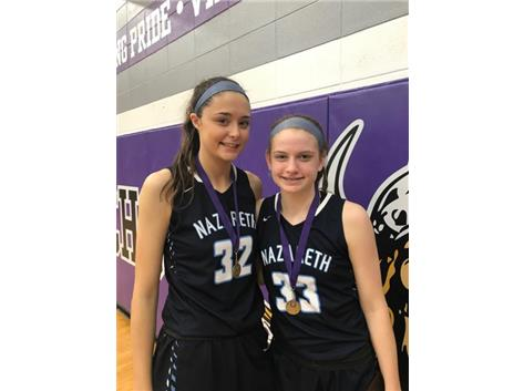 Senior Alyssa Geary and Junior Annie Stritzel named to Niles North All-Tourament Team